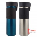 Подарочный набор Для него и для нее из двух термокружек Contigo Pinnacle Autoseal 0.47 ml Biscay Bay & Stainless Steel