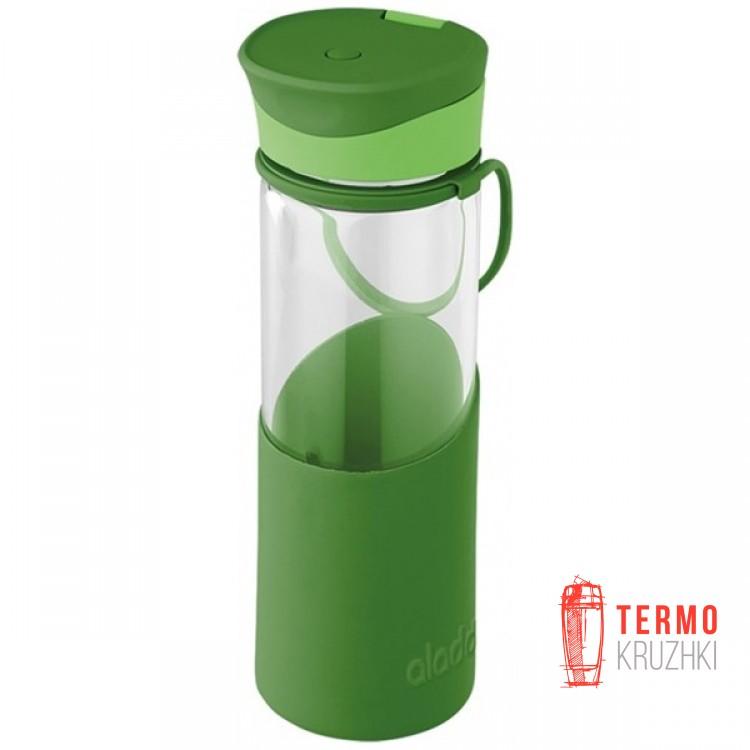 Бутылка для воды Aladdin Enjoy Glass 0.55 л зеленая