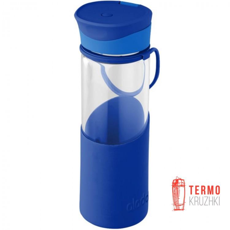 Бутылка для воды Aladdin Enjoy Glass 0.55 л синяя