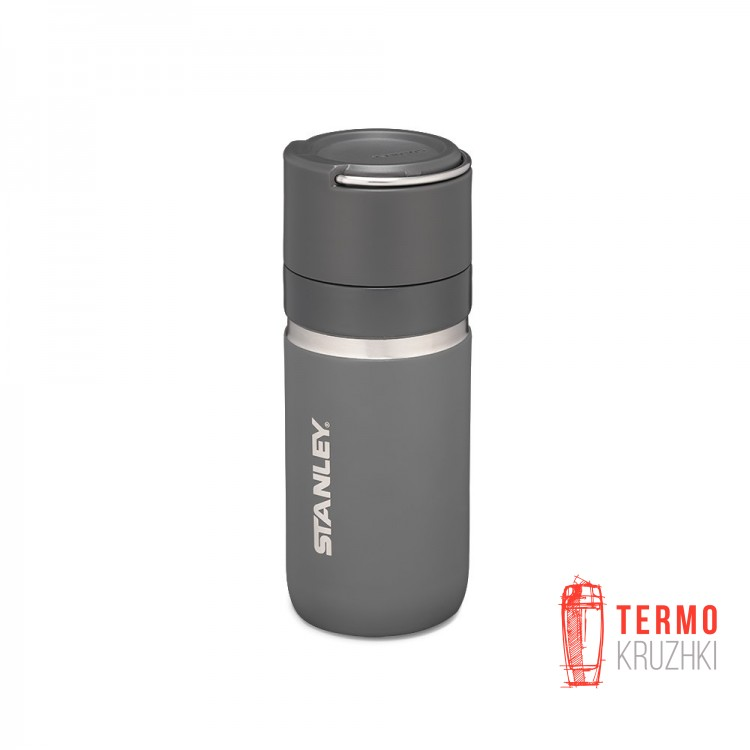 Термобутылка Stanley Go Ceramivac 0,47 л Asphalt