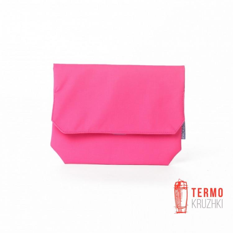 Ланчбег Lunch Bag Pack & Go Skin розовый