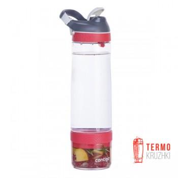 Бутылка для воды и напитков Contigo Cortland Infuser 770 мл красная