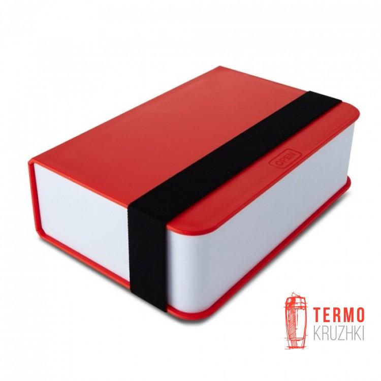 Ланч бокс прямоугольный Book Black+Blum Красный