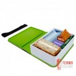Ланч бокс прямоугольный Book Black+Blum Зеленый