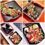 Ланч бокс квадратный Box Appetit Black+Blum Черный / Красный