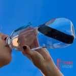 Эко бутылка стеклянная Eau Good Black+Blum Красная