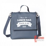 Ланчбег Pack & Go Lunch Bag L+ серый