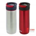 Подарочный набор термокружек Contigo Midtown 420 ml Red & Stainless Steel