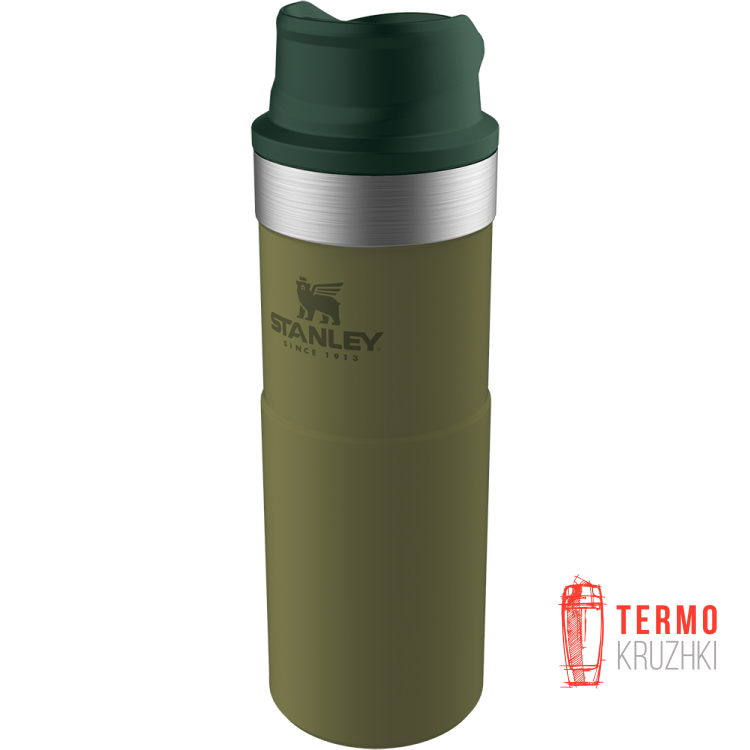 Термокружка Stanley Classic Trigger-action 470 мл olive drab