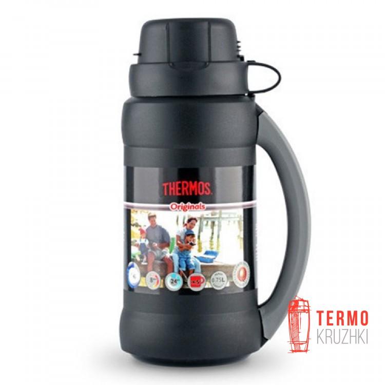 Стеклянный термос Thermos 0,75 л, 34-075 Premier, черный