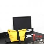 Lunch bag желтый XL с длинным ремнем