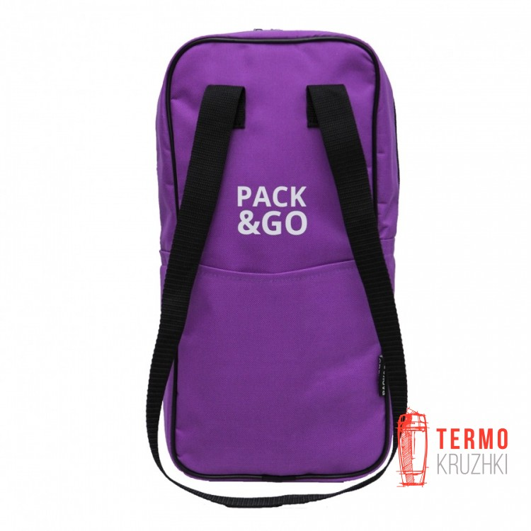 Ланч бэг Pack & Go Battle bag фиолетовый