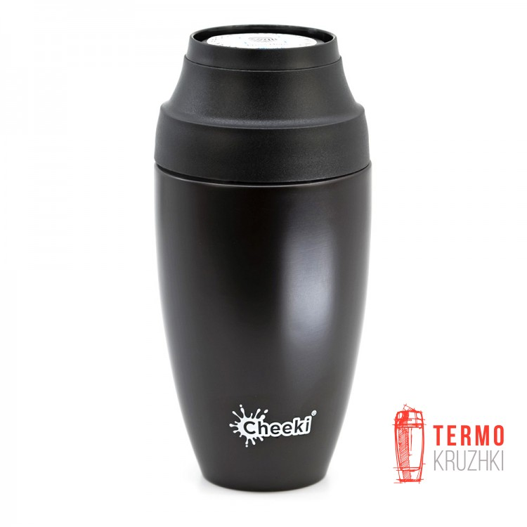 Термостакан Cheeki Coffee Mugs Leak Proof 350 ml Chocolate