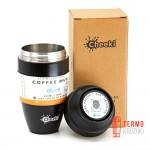 Термостакан Cheeki Coffee Mugs Leak Proof 350 ml Chocolate