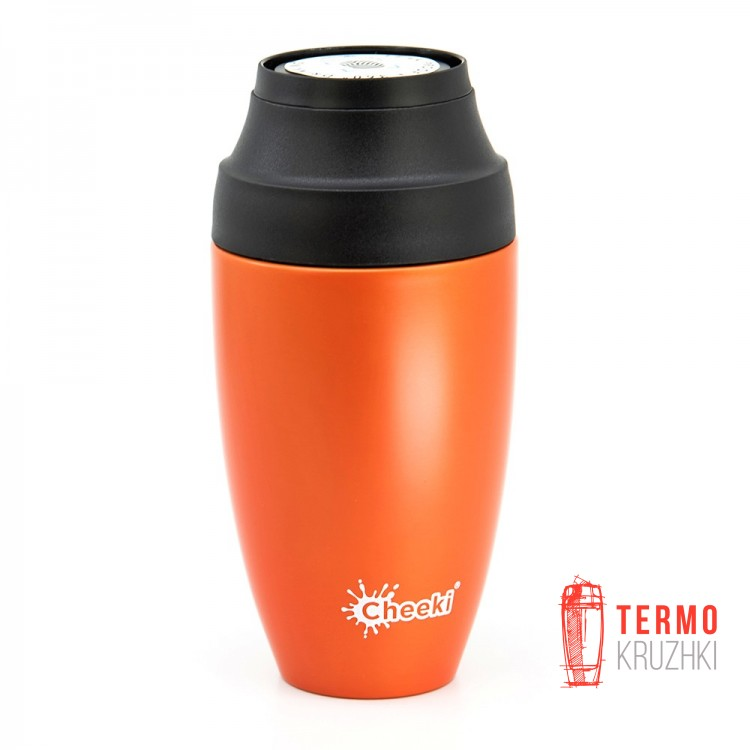 Термостакан Cheeki Coffee Mugs Leak Proof 350 ml Orange
