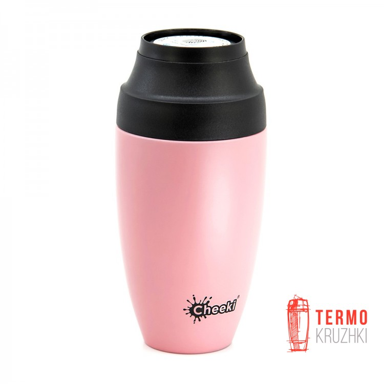 Термостакан Cheeki Coffee Mugs Leak Proof 350 ml Pink