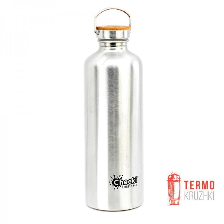 Фляга Cheeki Thirsty Max 1,6 литра Silver