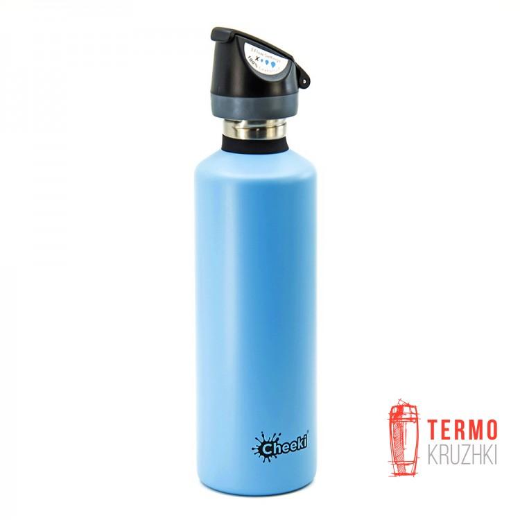 Бутылка для воды спортивная Cheeki Single Wall Active 750 ml Surf
