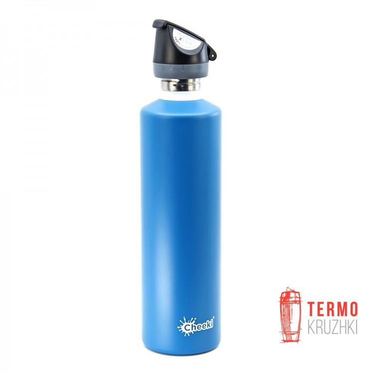 Спортивная бутылка для воды Cheeki Single Wall Active 1 литр Topaz