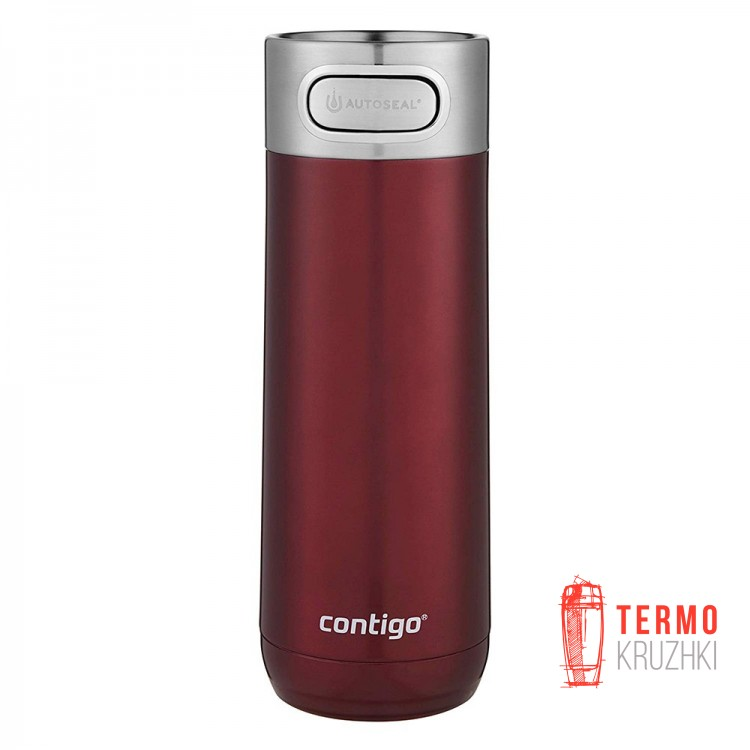 Термокружка Contigo Luxe Autoseal Vacuum-Insulated 473 мл Spiced Wine