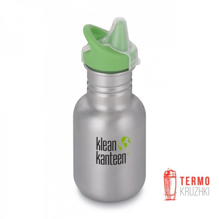 Бутылка для воды детская Kid Kanteen Classic Sippy Cap Brushed Stainless 355 мл