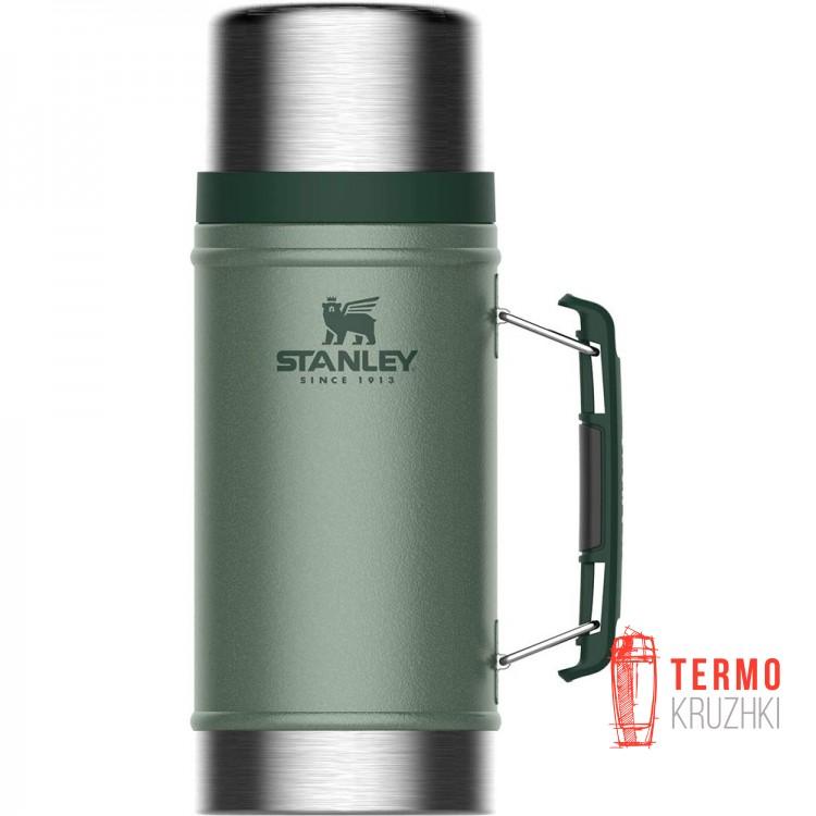Термос пищевой Stanley Legendary Hammertone Green 0.94 л