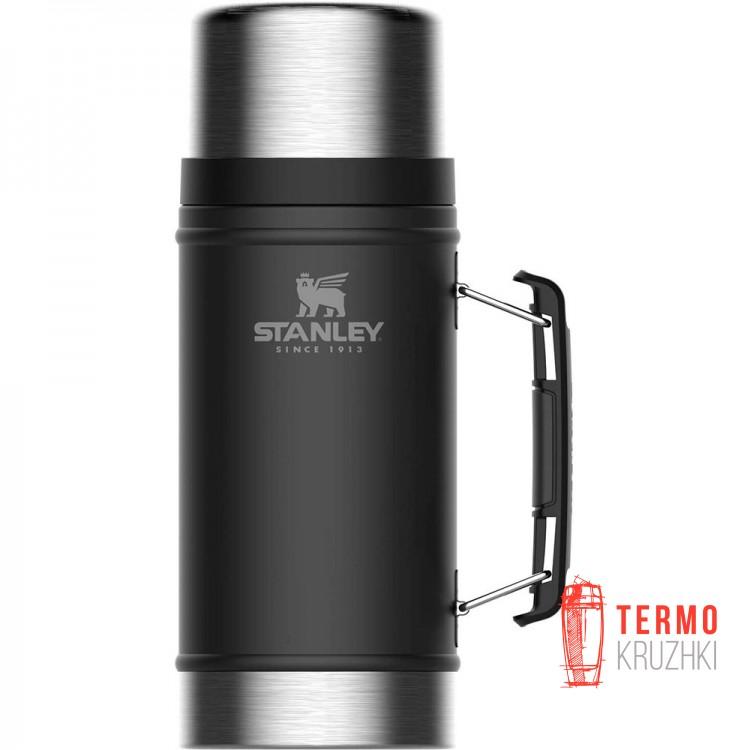 Термос пищевой Stanley Legendary Matte Black 0.94 л