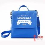 Ланчбег Pack & Go размер L+ голубой