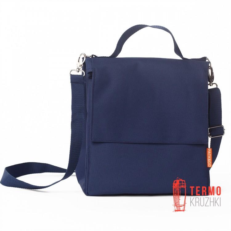 Ланчбег Pack & Go размер L+ без логотипа, темно-синий