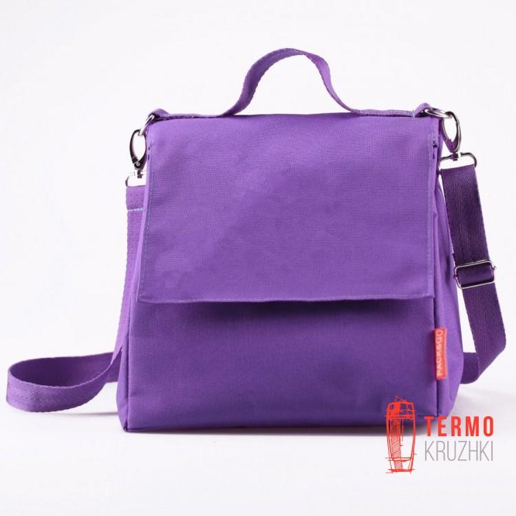 Ланчбег Pack & Go размер L+ без логотипа, фиолетовый