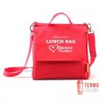 Ланчбег Pack & Go (L+) праздничный Love Edition красный