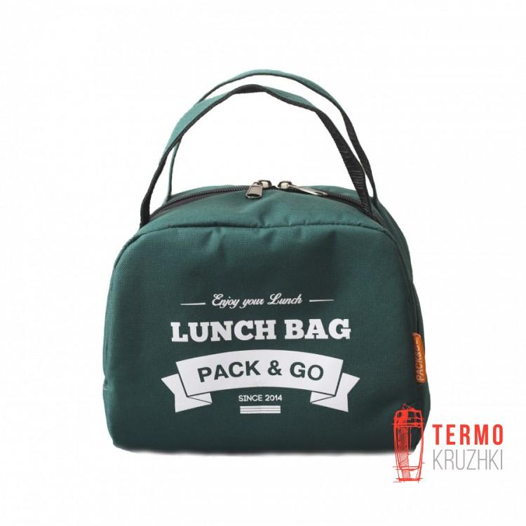 Ланчбег Pack & Go ZIP зеленый