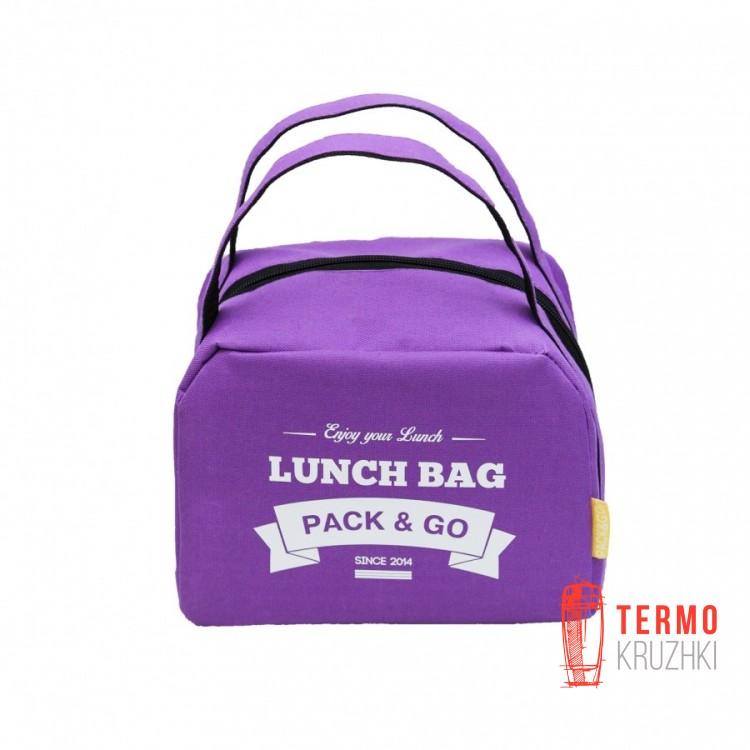 Ланчбег Pack & Go ZIP фиолетовый