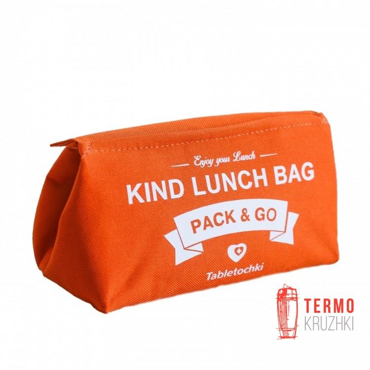 Ланчбег Pack & Go размер S Таблеточки оранжевый