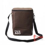Ланчбег Pack & Go Multi bag, коричневый