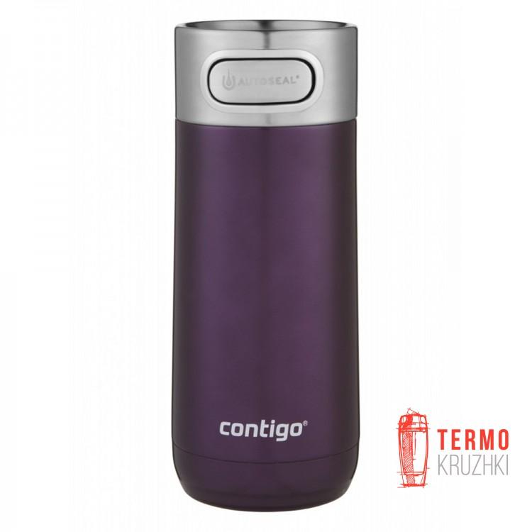 Термокружка Contigo Luxe Autoseal Vacuum-Insulated 360 мл Merlot