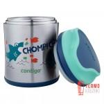 Термос для еды Contigo 295 мл Sharks Blue Teal