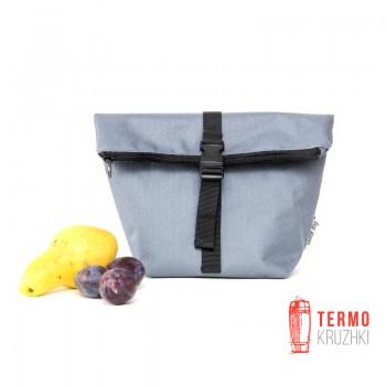 Термосумка Lunch bag S серая