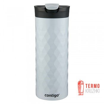Термокружка Contigo SnapSeal Kenton Stainless Steel  600 мл Polar White