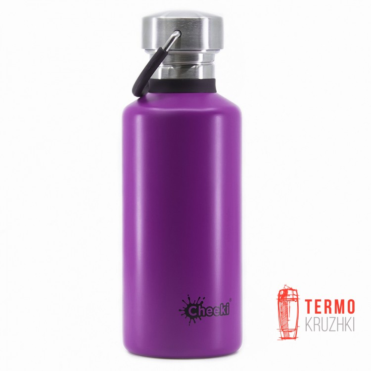 Бутылка для воды Cheeki Classic Single Wall 500 ml Purple