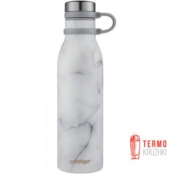 Термобутылка для воды Contigo Matterhorn COUTURE White Marble 590 ml