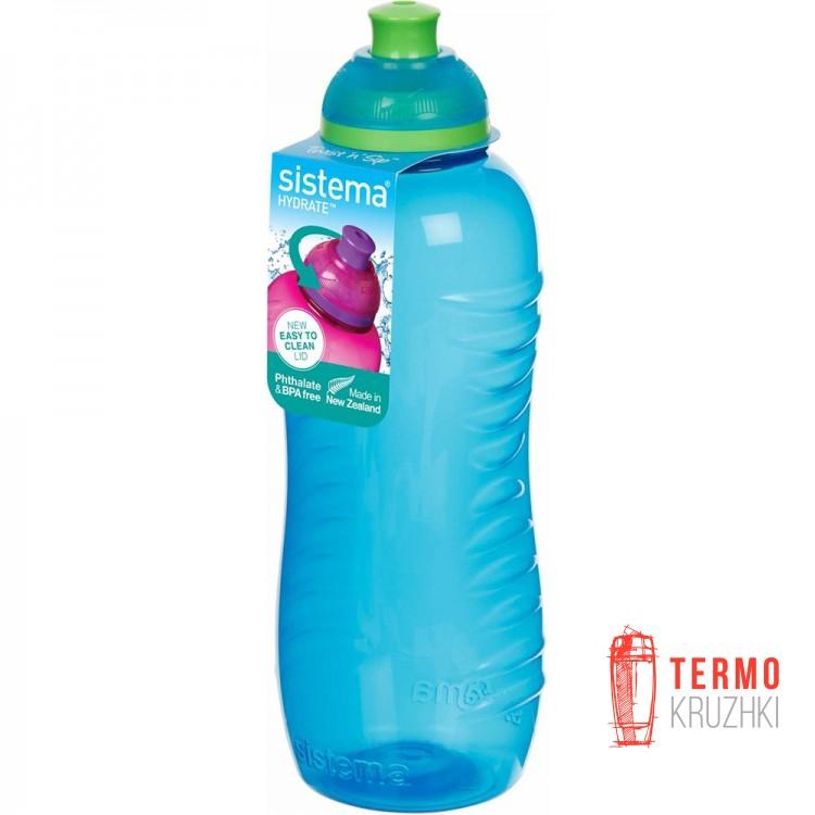 Бутылка для воды Sistema HYDRATE 0,46 л blue