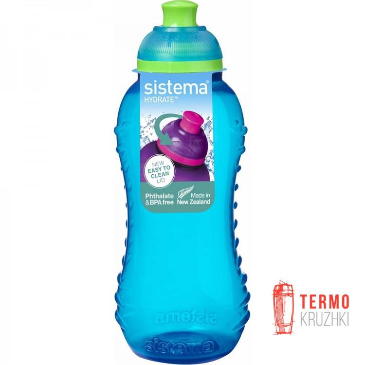 Бутылка для воды Sistema HYDRATE 0,33 л blue