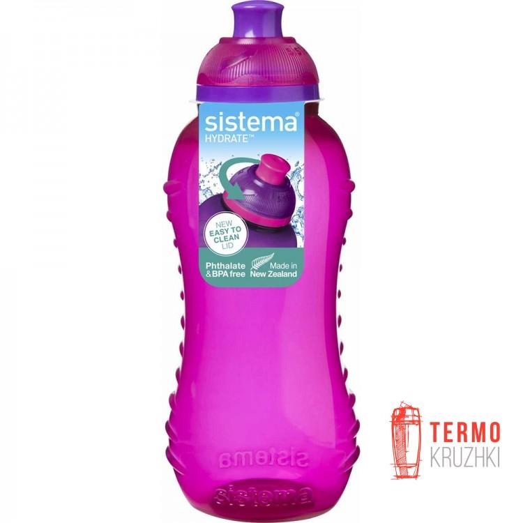 Бутылка для воды Sistema HYDRATE 0,33 л pink