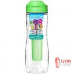 Бутылка для воды Sistema Hydrate с диффузором 800 мл Green