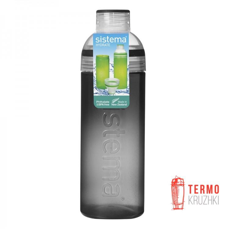 Бутылка для воды Sistema Hydrate разъемная 700 мл Black