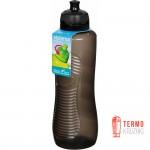 Бутылка для воды с поильником Sistema Hydrate 0.8 л black