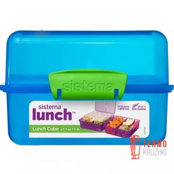 Ланч бокс Sistema Lunch Blue 1.4 л