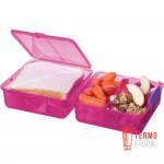 Ланч бокс Sistema Lunch Pink 1.4 л