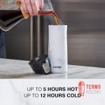 Термокружка Contigo Stainless Steel Coffee Couture 420 мл White Marble - Уценка